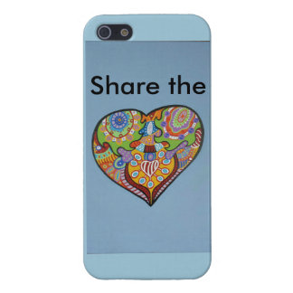 Share Love iPhone 5 Cover