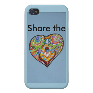 Share Love iPhone 4/4S Cover