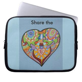Share Love Laptop Sleeve