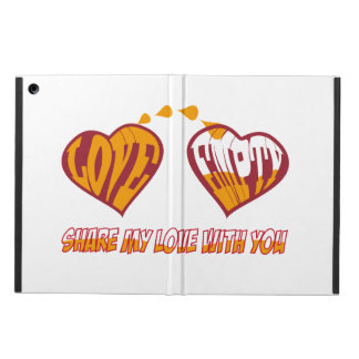 Share my love with you cover for iPad air