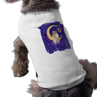 Share Our Joy Grooms on Moon Pet Shirt