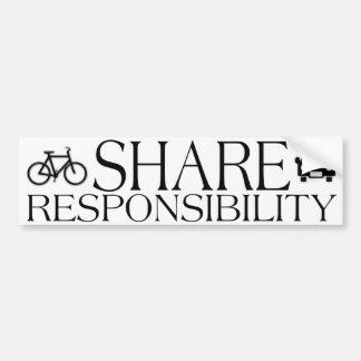 Share Responsibility Bumper Sticker