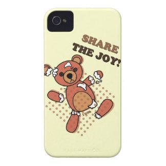 Share the Joy Broken Bear Doll iPhone 4 Case