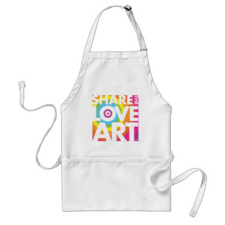 SHARE THE LOVE OF ART STANDARD APRON