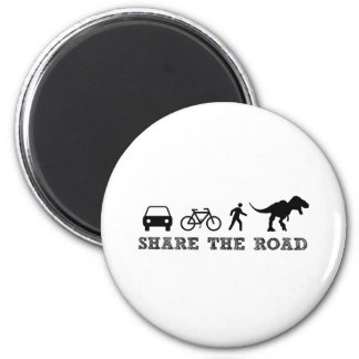 Share the Road 2 Inch Round Magnet