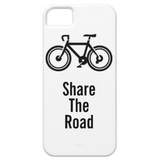 Share The Road Bicycling iPhone 5 Case