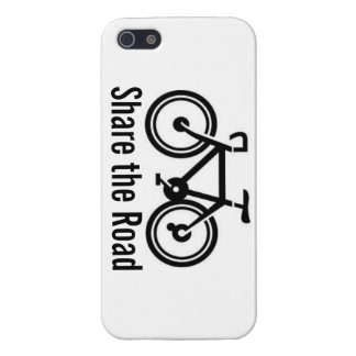 Share the Road Cycling (Horizontal) Case For iPhone 5/5S
