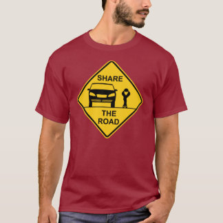Share the road front T-Shirt