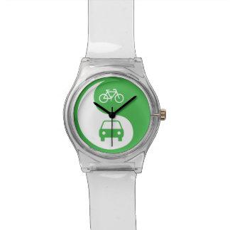 Share the Road Yin Yang Wristwatch