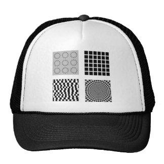 share the trick art trucker hat