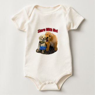 Share With Me Baby Bodysuit