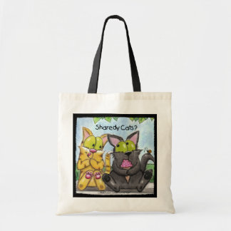 Sharedy Cats -Silly and Tig Tote Bag