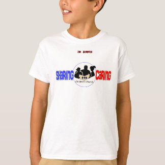 Sharing is Caring Children's Church T-Shirt
