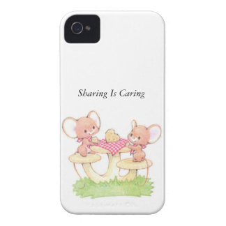 Sharing Is Caring Spring Summer Mice iPhone 4 Case-Mate Cases
