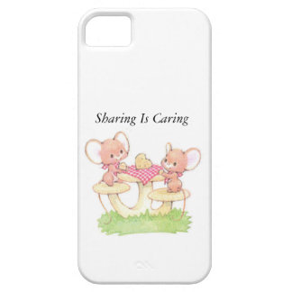 Sharing Is Caring Spring Summer Mice iPhone 5 Cover