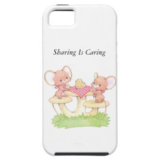 Sharing Is Caring Spring Summer Mice iPhone 5 Covers