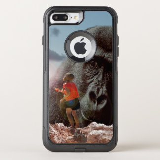 Sharing Lunch With An Ape, OtterBox Commuter iPhone 8 Plus/7 Plus Case