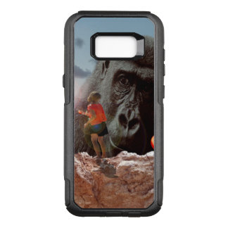 Sharing Lunch With An Ape, OtterBox Commuter Samsung Galaxy S8+ Case