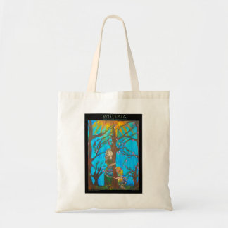 """""""Sharing Our Peace"""" Cloth Grocery Bag"""