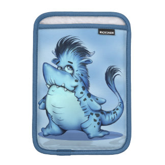SHARK ALIEN CARTOON  iPAD MINI Vertical iPad Mini Sleeve