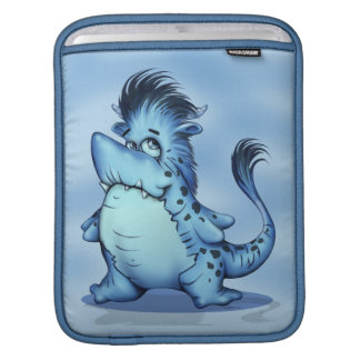SHARK ALIEN CARTOON  iPAD Vertical iPad Sleeve