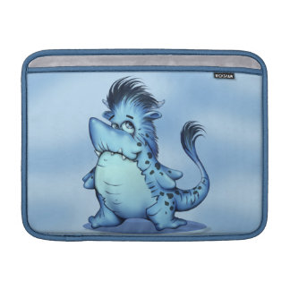 "SHARK ALIEN CARTOON Macbook Air Horizontal13"" MacBook Sleeve"
