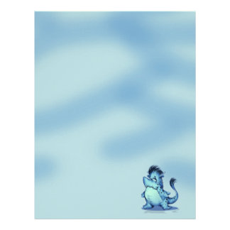 SHARK ALIEN MONSTER  Letterhead Felt