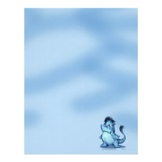 SHARK ALIEN MONSTER  Letterhead Linen