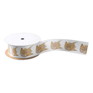 Shark angel, angelote satin ribbon