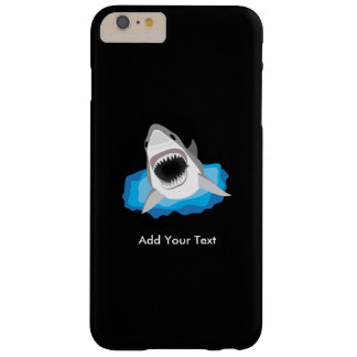 Shark Attack - Add Your Own Funny Caption Barely There iPhone 6 Plus Case