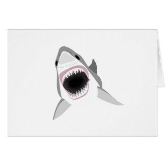 Shark Attack - Bite of the Great White Shark Card