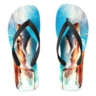 Shark Attack Footwear Flip Flops