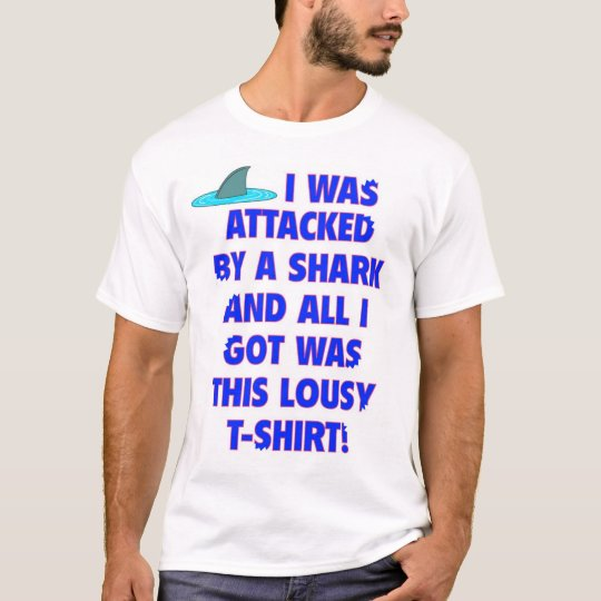 Shark Attack Souvenir T-Shirt