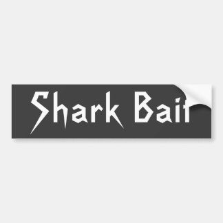 Shark Bait Bumper Sticker