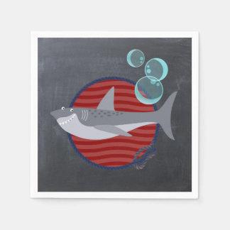 Shark Bites paper Napkin
