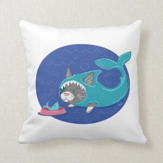 Shark Cat - Cushion