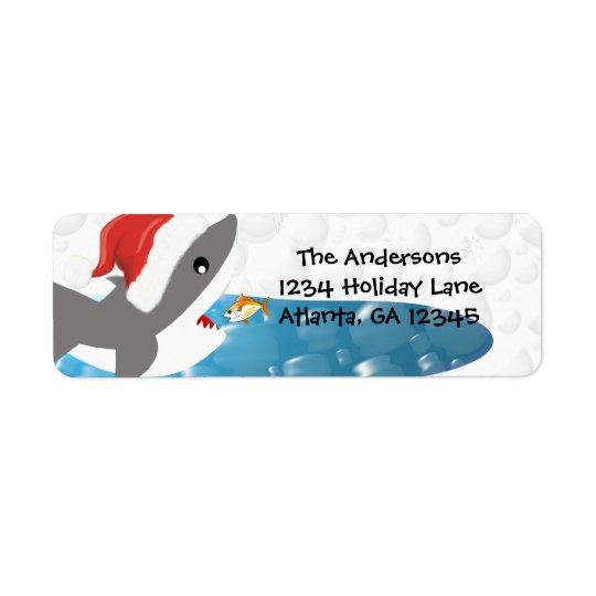 Shark Christmas Return Address
