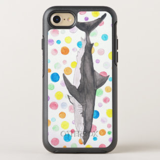 Shark Dots OtterBox Symmetry iPhone 8/7 Case