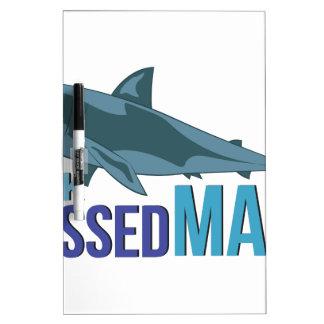 Shark Dressed Man Dry Erase Board