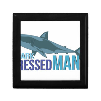 Shark Dressed Man Gift Box