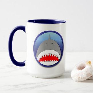 Shark Emblem Mug