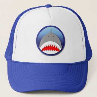 Shark Emblem Trucker Hat