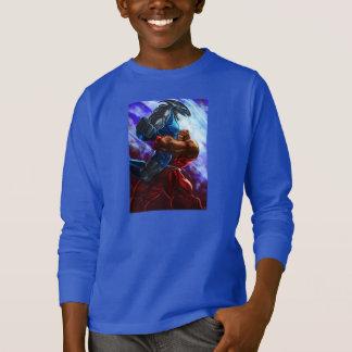Shark fight tee shirt