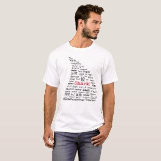 Shark Fin Multi-Language T-Shirt