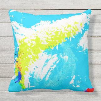 Shark Fin Rice Outdoor Pillow