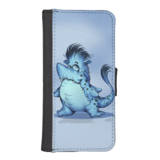 SHARK FISH CARTOON iPhone 5/5s Wallet Case