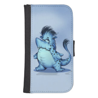 SHARK FISH CARTOON Samsung Galaxy S4 Wallet Case