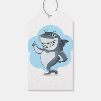 Shark Fish Swim Home Personalize Destiny Destiny'S Pack Of Gift Tags