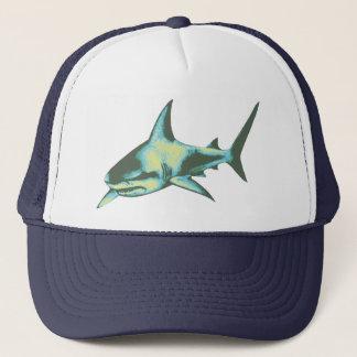 shark fish, wild animals trucker hat