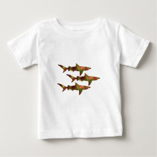 Shark Frenzy Baby T-Shirt